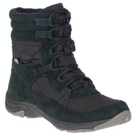 Merrell Approach Nova Mid Lace Waterproof Stiefel - Black