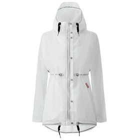 Hunter Original Vinyl Smock Damen Jacke - White