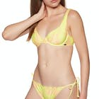 Volcom Take A Neon Uwire Bikini Top