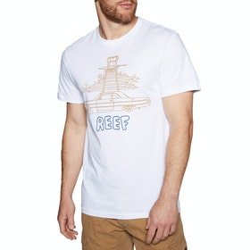 Reef Well Surfed Short Sleeve T-Shirt - White