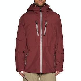 Volcom Tds Inf Gore-tex Waterproof Jacket - Burnt Red