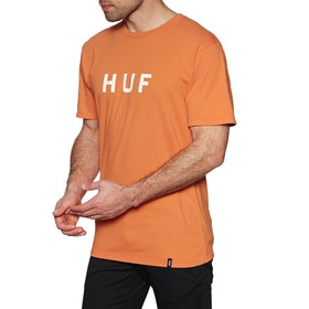T-Shirt à Manche Courte Huf Essentials OG Logo - Rust