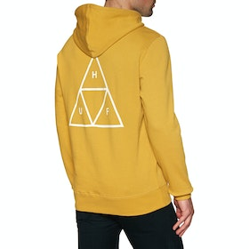 Pullover à Capuche Huf Essentials Triple Triangle - Sauterne