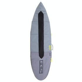 FCS Day Runner Funboard Surfboard Bag - Cool Grey