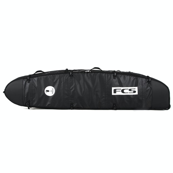 FCS Travel 2 Wheelie Longboard Surfboard Bag