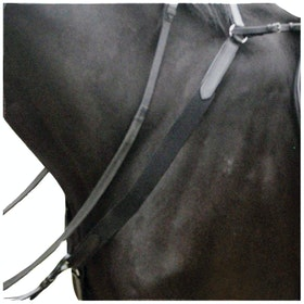 Kincade Elasticated Breast Plate - Black