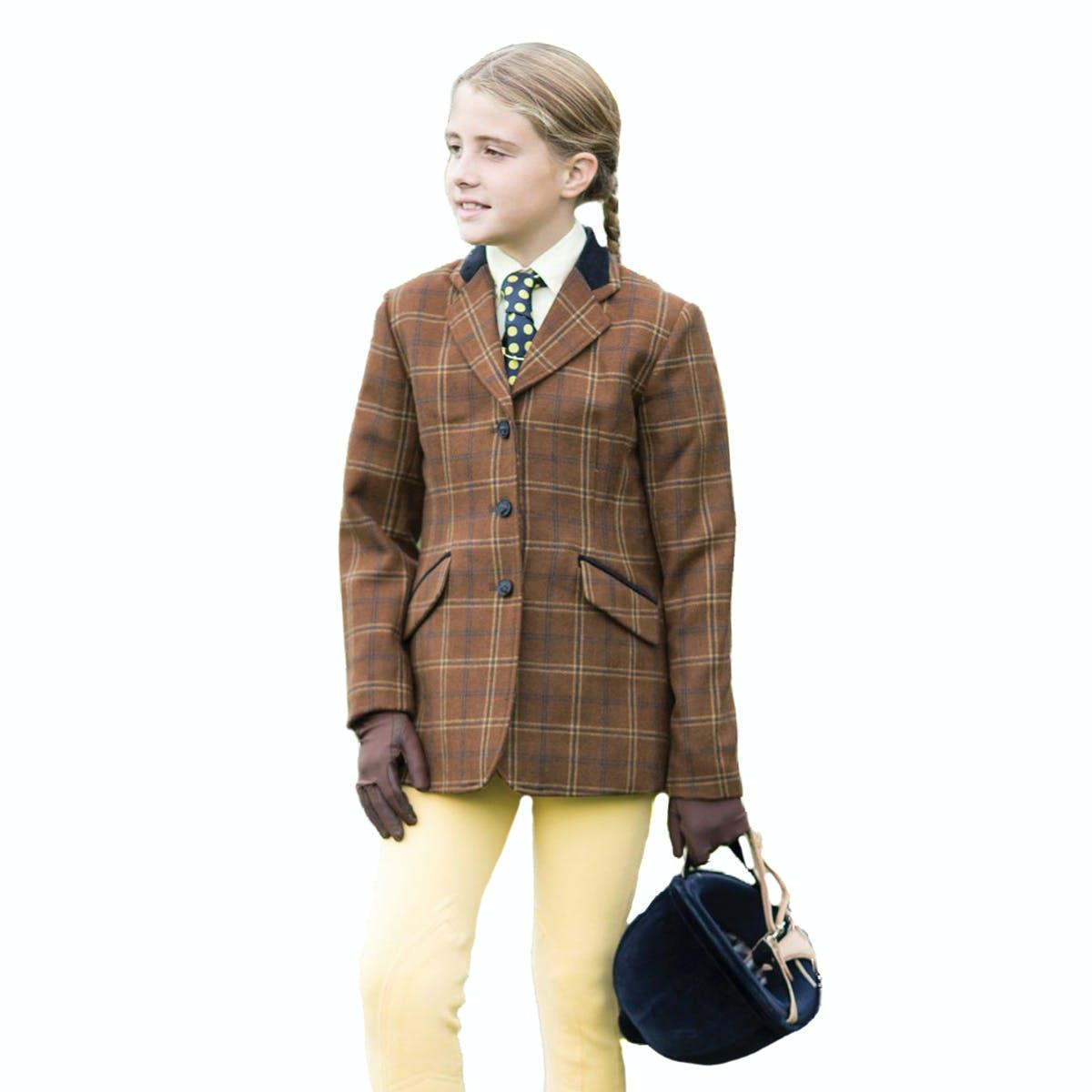 Equetech Marlow Deluxe Tweed Kids Tweed Jackets From Rideaway