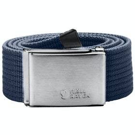 Fjallraven Canvas Web Belt - Dark Navy
