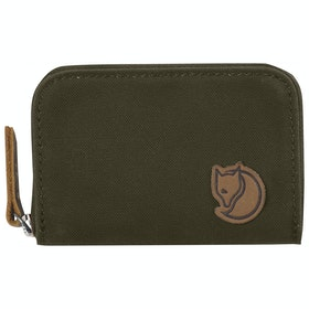 Carteira Fjallraven Zip Card Holder - Dark Olive
