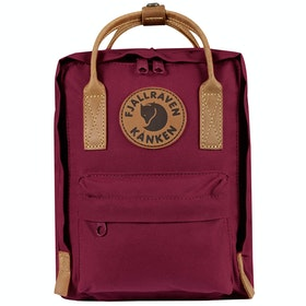 Fjallraven Kanken No 2 Mini バックパック - Plum
