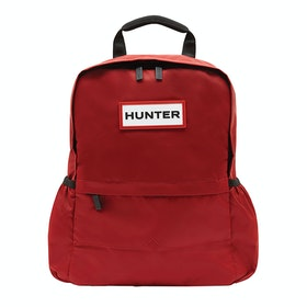 Hunter Original Nylon Backpack - Military Red