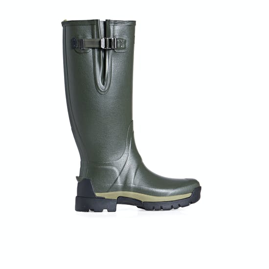 Hunter Balmoral Bamboo Carbon Side Adjustable Wellies