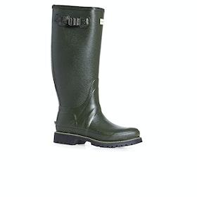 Hunter Mens Balmoral Wide Fit Rubber Boot Gummistiefel - Dark Olive