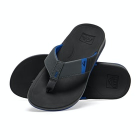 Reef Ortho-bounce Sport Sandals - Black Blue