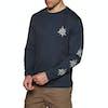 Volcom Family Stone Long Sleeve T-Shirt - Navy