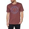 Volcom Pinstone Hth Short Sleeve T-Shirt - Crimson