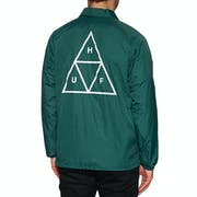 Huf Essentials Triple Triangle Coaches Jacket