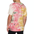 Huf Further Logo Tie Dye Short Sleeve T-Shirt
