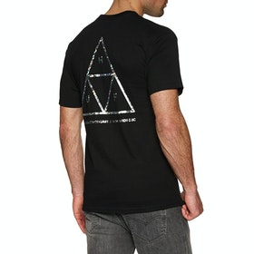 T-Shirt à Manche Courte Huf Hologram - Black