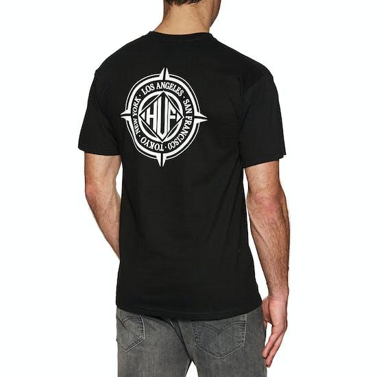 Huf Coordinates Short Sleeve T-Shirt