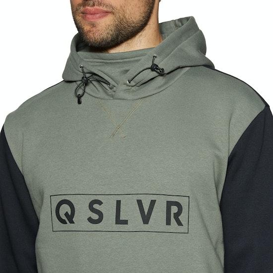 Quiksilver Big Logo Tech Pullover Hoody