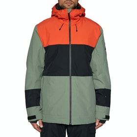 Quiksilver Sycamore Snow Jacket - Agave Green