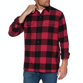 Levi's Jackson Worker Shirt - Bandurria Crimson