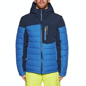 Protest Mount 19 Snow Jacket - Ground Blue