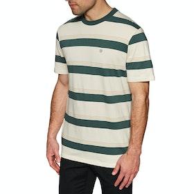 Brixton Hilt Knit Short Sleeve T-Shirt - Emerald