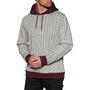 Heather Grey Maroon