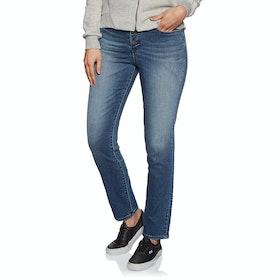 Jeans Femme Volcom Super Stoned Skinny - Charred