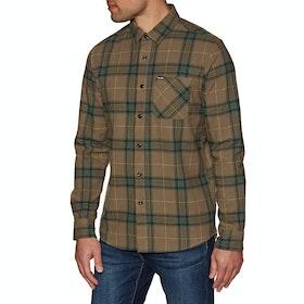 Volcom Caden Plaid Shirt - Mud