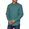 Volcom Caden Solid Shirt - Mediterranean
