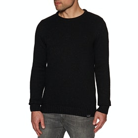 Sweat Volcom Edmonder Knitted - Black