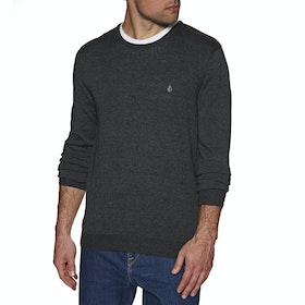 Volcom Uperstand Knit Sweater - Black