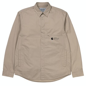 Carhartt Coleman Shirt - Wall Black