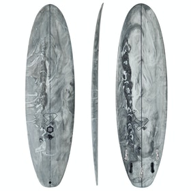Fourth Surfboards BP Mini ESE Construction FCS II 5 Fin Surfboard - Grey