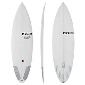 Pyzel Ghost JJF Futures 5 Fin Surfboard - White