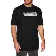 T-Shirt a Manica Corta Santa Cruz Not A Crime