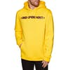 Jersey con capucha Independent Bar Cross - Yellow