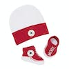 Converse Classic Booties And Hat Gift Pack Baby Shoes - Red