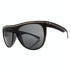 Electric Low Note Polarised Sunglasses - Gloss Black ~M1 Grey
