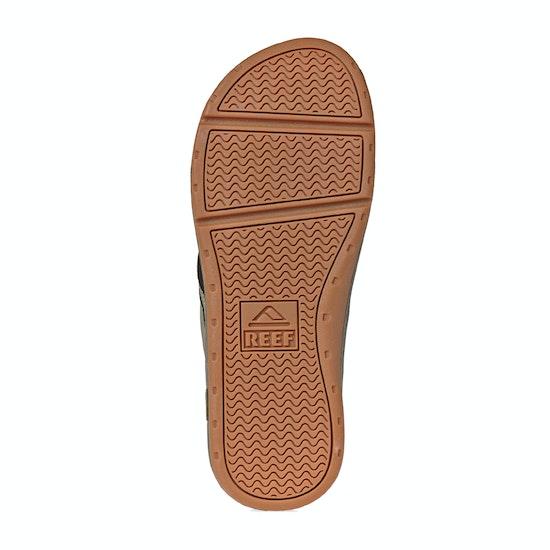 Reef Leather Ortho-spring Flip Flops