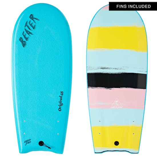Surfboard Catch Surf Beater Original Twin Fin