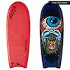 Catch Surf Beater Original Twin Fin Lost Edition 3 Surfboard - Red