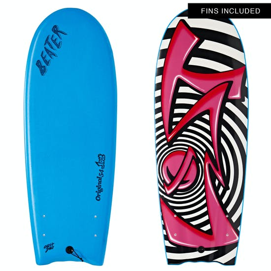 Surfboard Catch Surf Beater Original Twin Fin Lost Edition 4