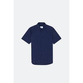 Albam Rooke 2069A S S Shirt - Rich Navy