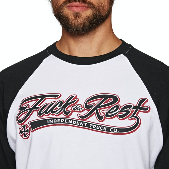 Independent Ftr Script Baseball Long Sleeve T-Shirt