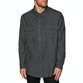 Independent Mill Shirt - Charcoal Heather