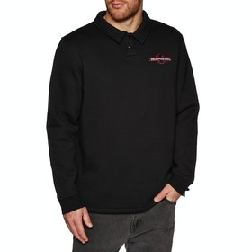 Independent OGBC Emb Polo Crew Sweater - Black